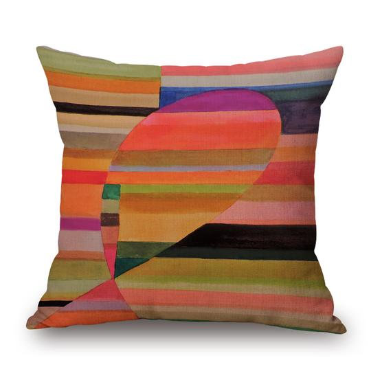 Graphic Cushion With Filler (DT)