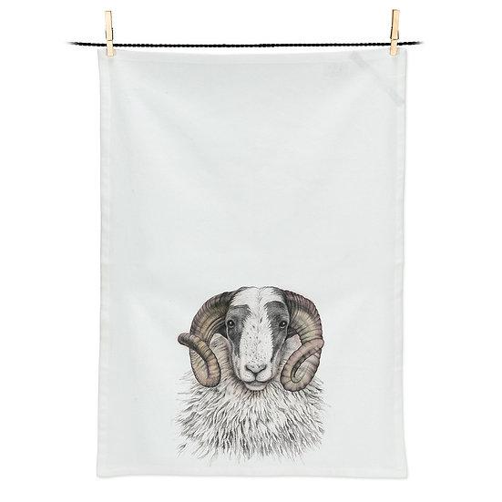 Charles Ram Tea Towel (AB)