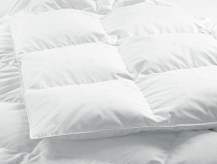 European White Down Duvet/Comforter(Summer Fill) 500TC