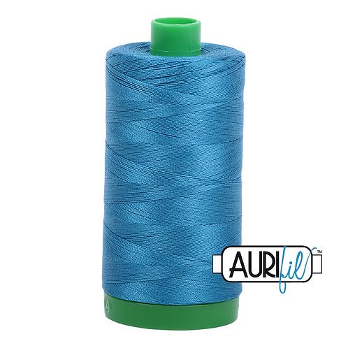 Aurifil Thread - 1125 Medium Teal