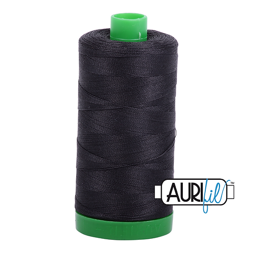 Aurifil Thread - 4241 Very Dark Grey
