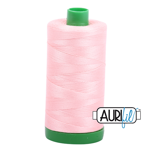 Aurifil Thread - 2415 Blush Pink