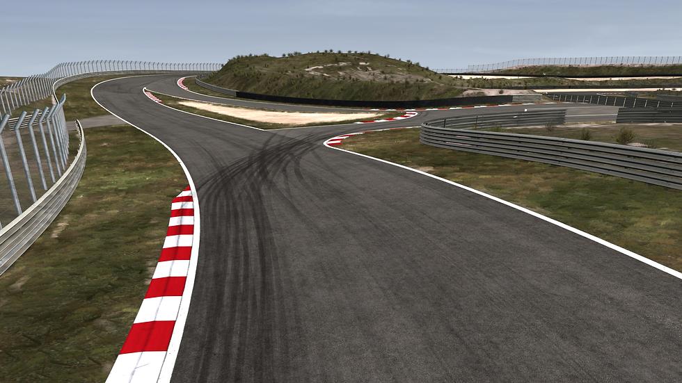 Zandvoort F1 Simulator Track