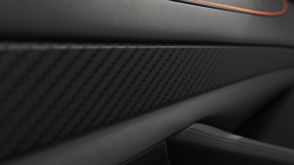 McLaren car configurator materials