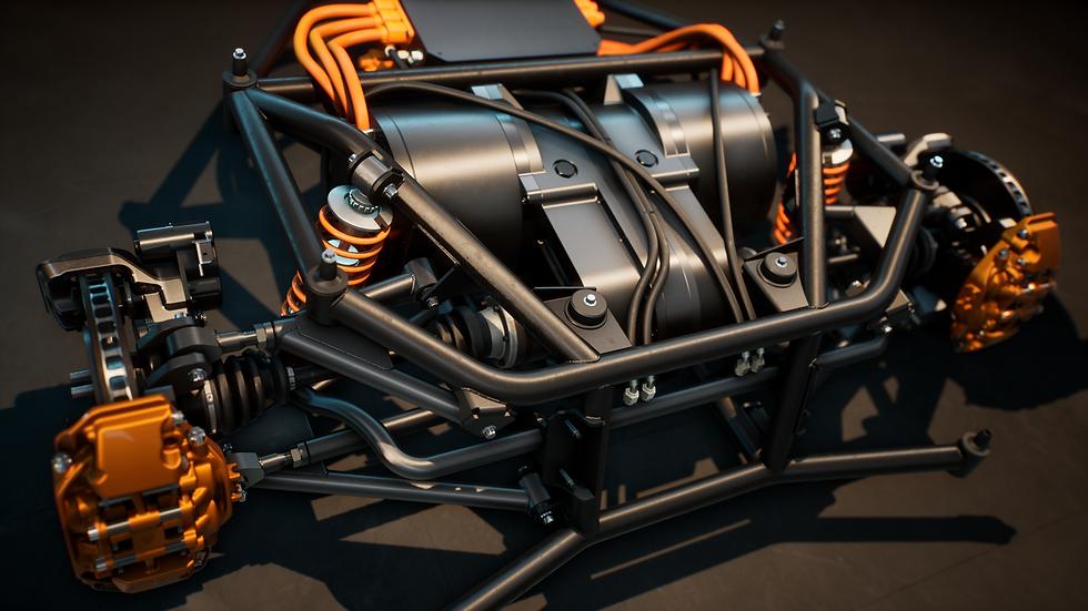 Charge Cars Engineering Renderings