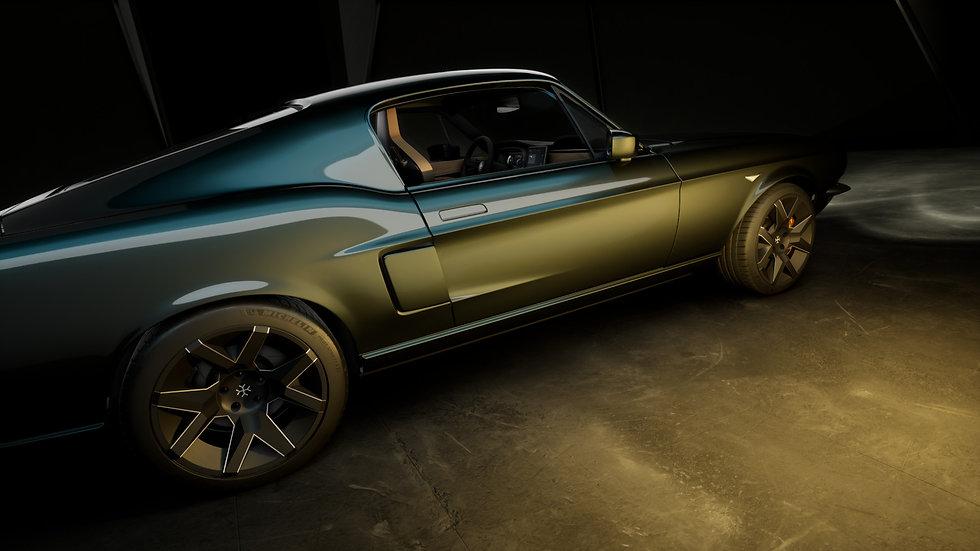 Charge Cars Exterior CGI Renderings