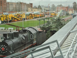 BCM-2000 presented at the opening of the Railways Museum of Russia