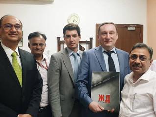Группа ПТК - трансфер передовых технологий и локализация современной путевой техники в Индии