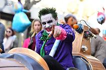 le super heros spectacle de rue carnaval