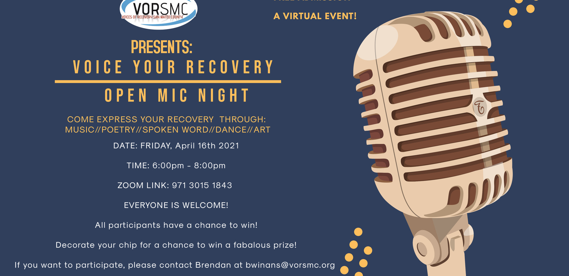 Recovery Open Mic