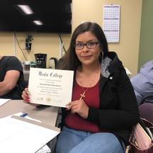 WRAP Certificate! Congrats!