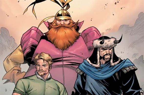 Os Três Guerreiros