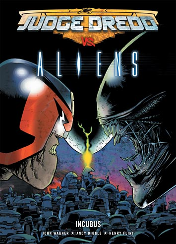 Juiz Dredd vs Alien