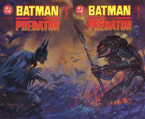 Batman vs Predador