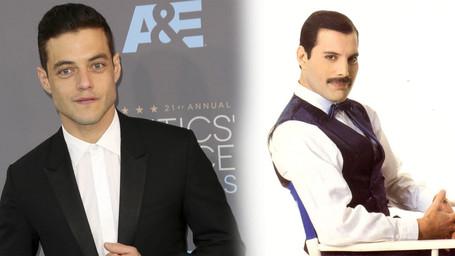 Rami Malek será Freddie Mercury em cinebiografia do Queen