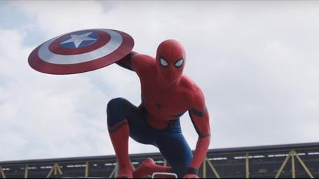 Homem-Aranha aparece em trailer de 'Capitão América: Guerra Civil'