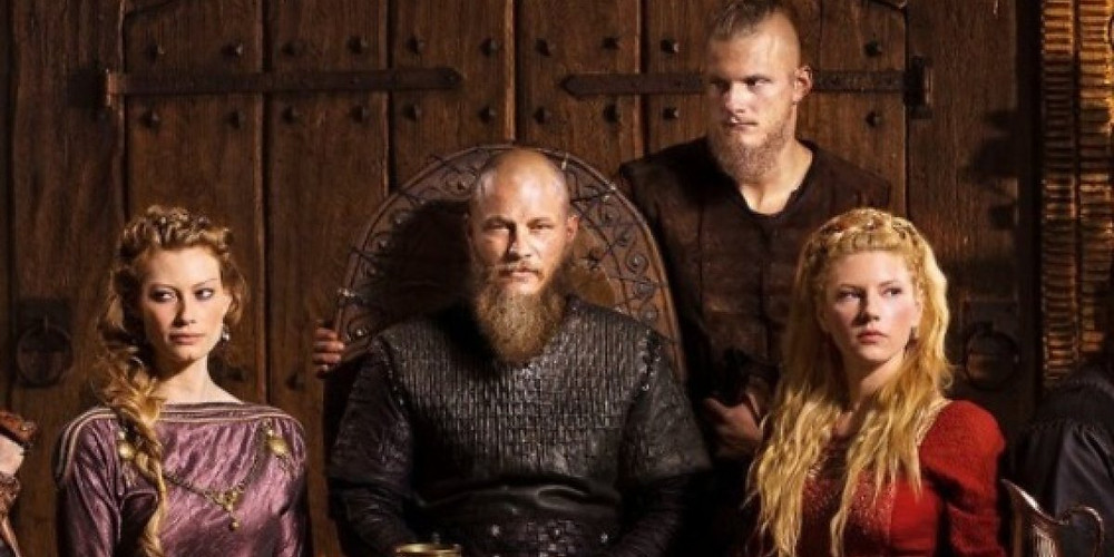 Aslaug, Ragnar, Bjorn, Lagertha