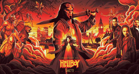 Trailer Oficial Legendado Hellboy (2019)
