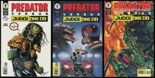 Predador vs Juiz Dredd