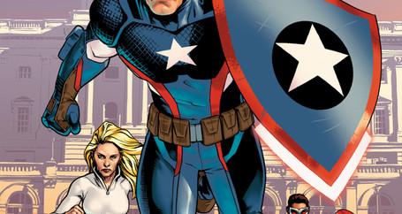 Steve Rogers retorna como Capitão América