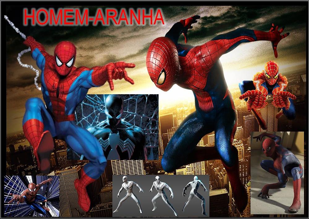 Homem Aranha-acervo de heróis MASAM