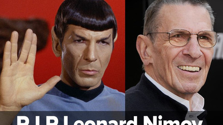 Leonard Nimoy falece