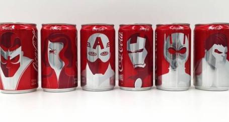 """Coca-cola cria latas promocionais de """"Capitão América: Guerra Civil"""""""