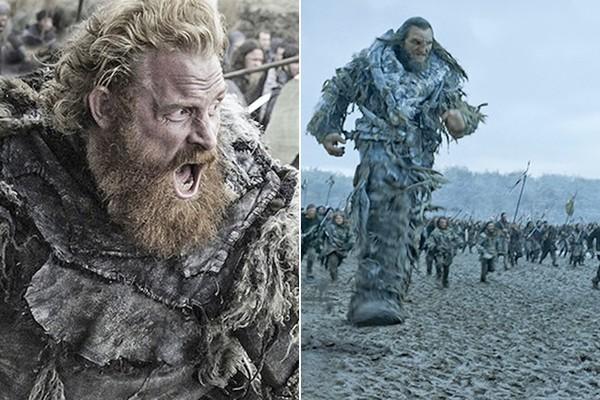 Tormund e Wun-Wun, o Gigante