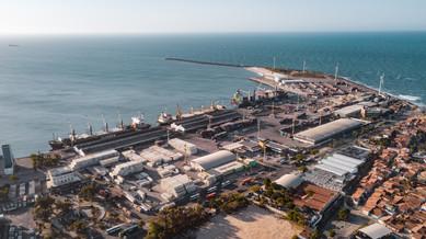 Vista Aérea - Porto de Fortaleza