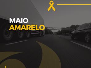 Campanha Maio Amarelo na CDC reforça que segurança no trânsito é fundamental