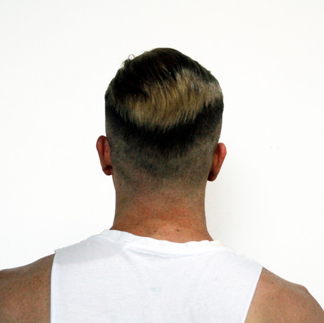 Short sides and back. Hairpiece