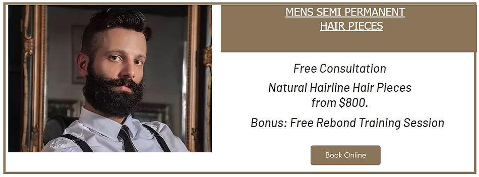 Mens Hair Pieces Sydney Hair Patch Hair