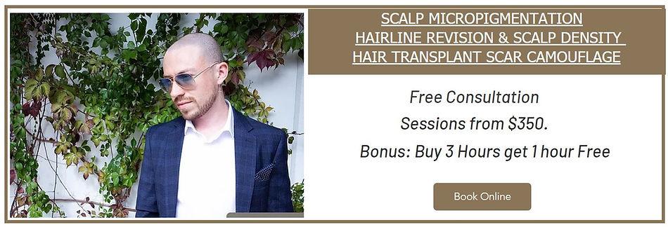 Scalp Micropigmentation Hair Loss Sydney