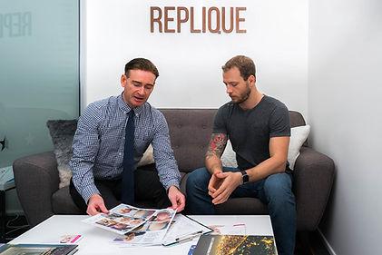 Hair replicaiton consultation