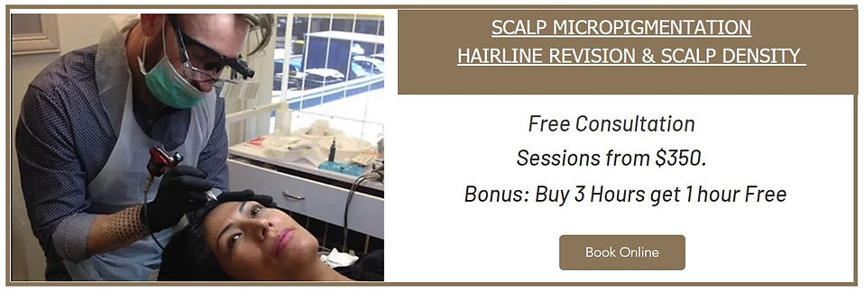 Sydney Scalp Micropigmentation for Women