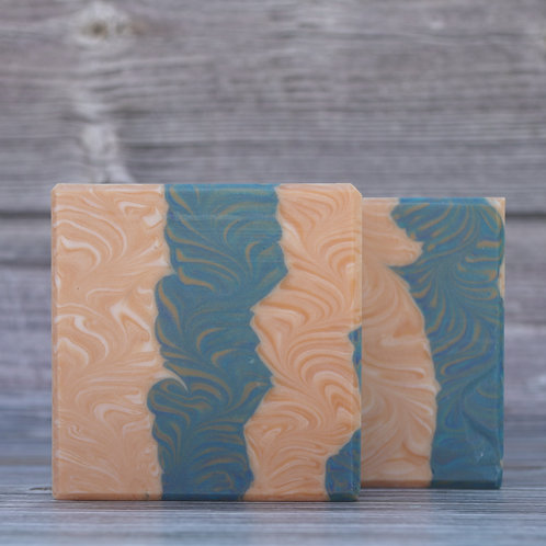 Teal and Tan (Bermuda Triangle Fragrance)