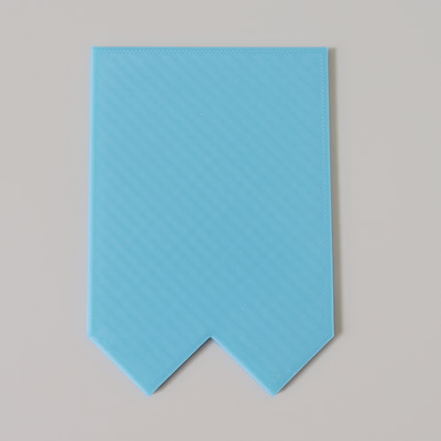 Chevron Scraper - Made to measure (loaf moulds only)