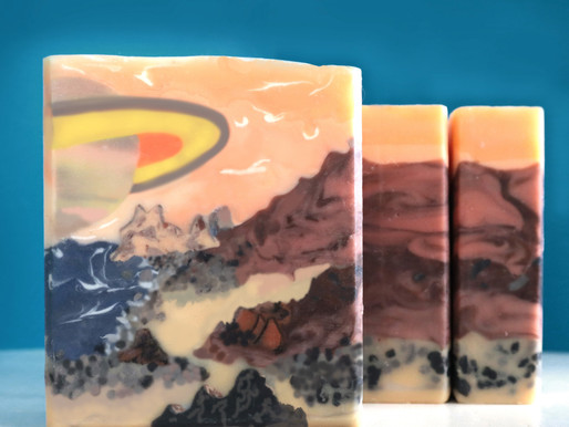 Saturn Rising - January 2020 Soap Challenge