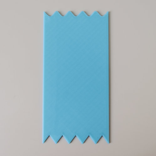 Zig Zag Scraper - Made to measure (loaf moulds only)
