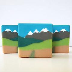 Landscape soap scraper templates
