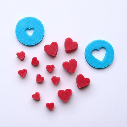 Big Heart, little heart 18mm