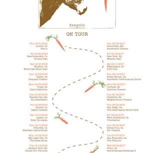 Sample Music Tour Poster Design