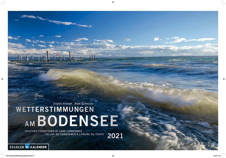 """Kalender """"Wetterstimmungen am Bodensee  2021"""""""