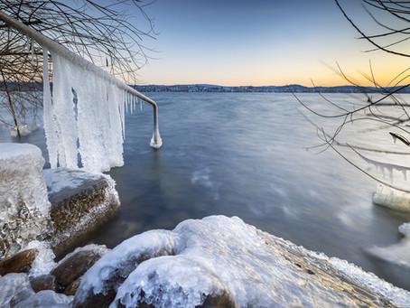 Eiszeit am Bodensee/Februar 2021