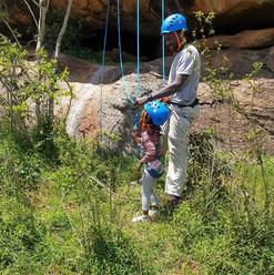 Ropes basics, youth camp