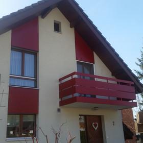 Fassaden- und Balkon-verkleidung