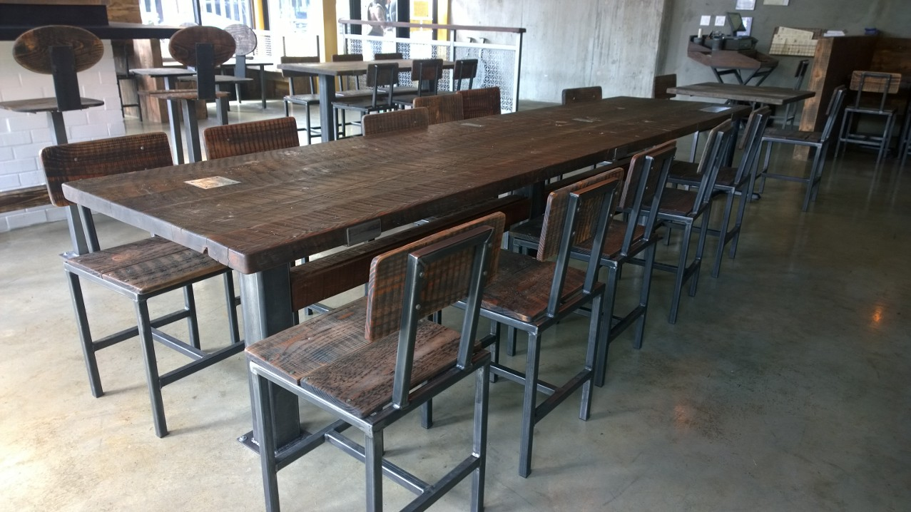 Custom Long Table and Base