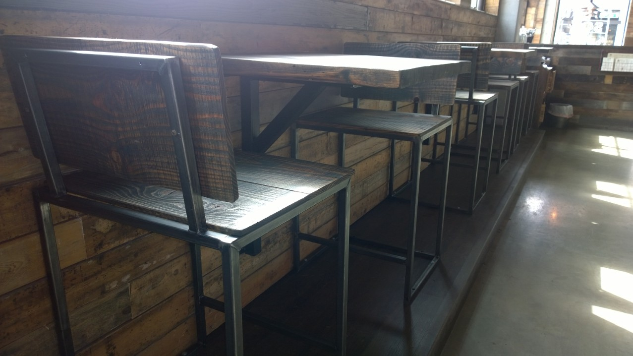 Custom Restaurant Bar Seating