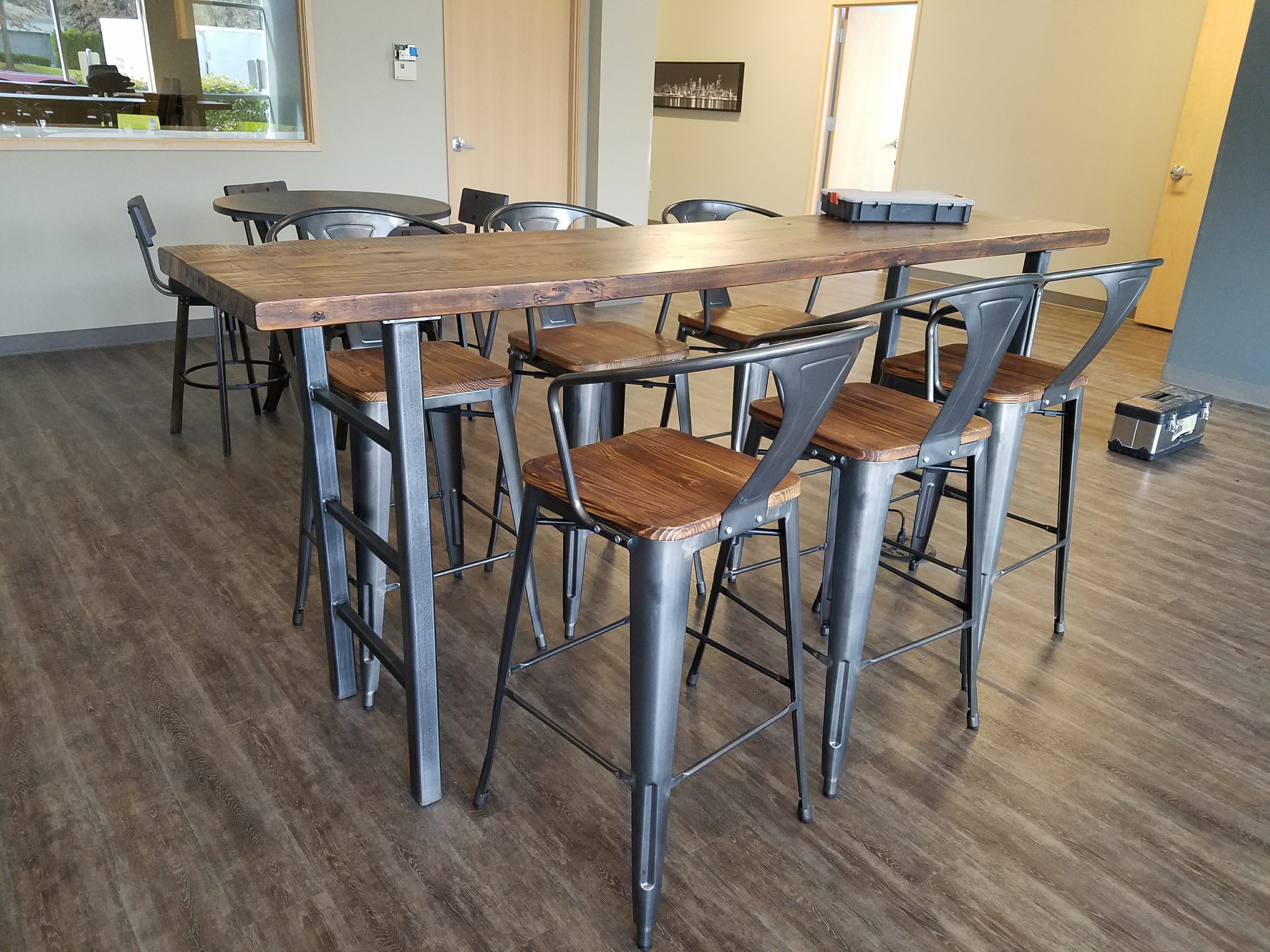 Custom Table and Chairs