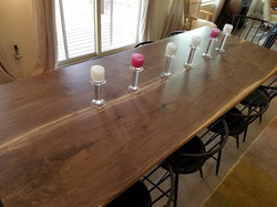 Residential Reclaimed Walnut Table